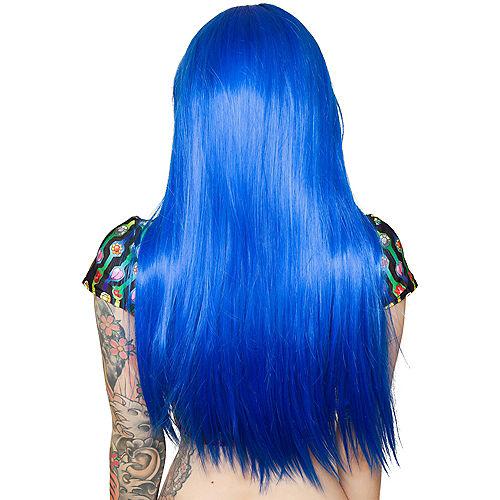 Royal Blue Wig Image #2