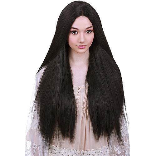 Yaki Lace Front Straight Black Wig Image #1
