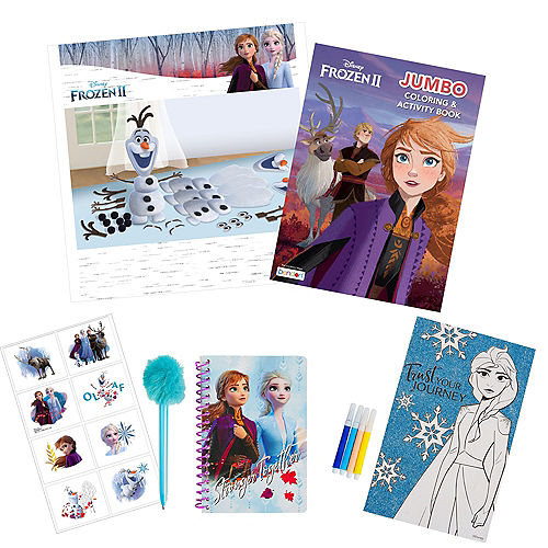 Frozen 2 Color & Doodle Crafts in a Box Image #1