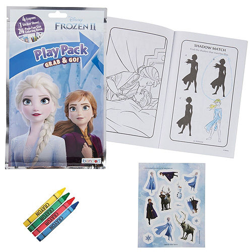 Frozen 2 Color & Doodle Crafts in a Box Image #4