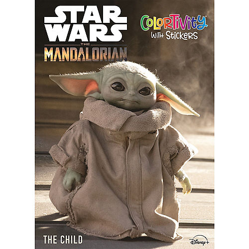 The Child Coloring & Activity Book, 48 Pages - Mandalorian Image #1