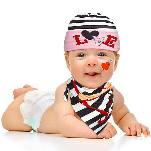 Baby's First Valentine's Day Accessory Kit 3pc Image #2