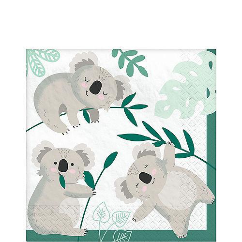 Koala Lunch Napkins, 6.5in, 16ct Image #1