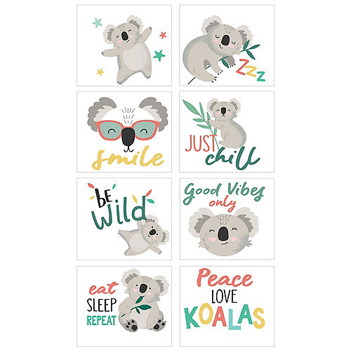 Koala Tattoos, 1 Sheet Image #1
