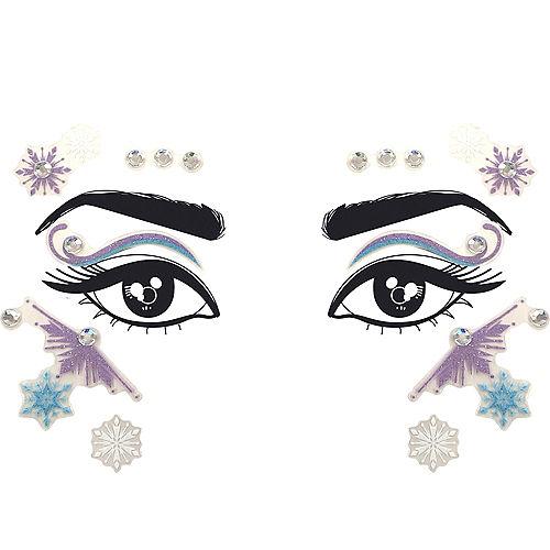 Elsa Face Decals - Frozen 2 Image #1