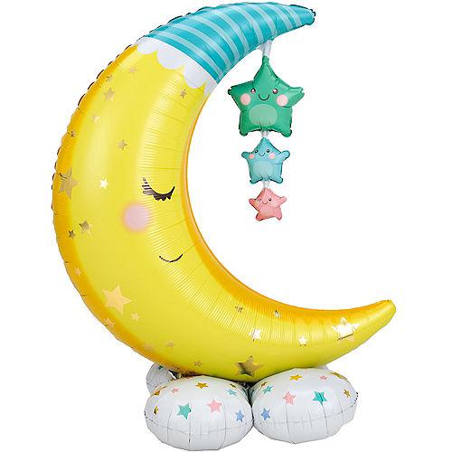 AirLoonz Moon & Stars Balloon, 55in Image #1