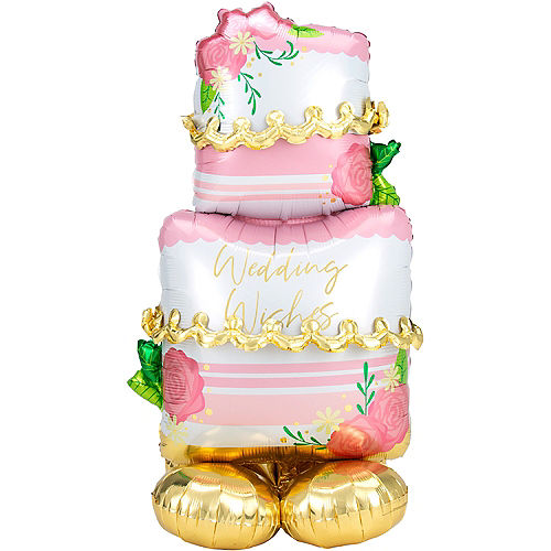 AirLoonz Wedding Cake Balloon, 52in Image #1