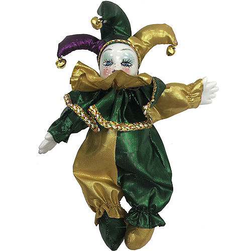 Mardi Gras Jester Ornament Image #1