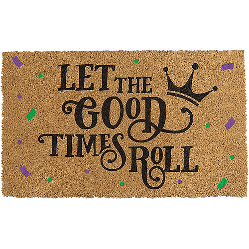 Let the Good Time Roll Doormat Image #1
