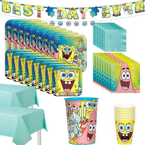 SpongeBob SquarePants Tableware Kit for 24 Guests Image #1