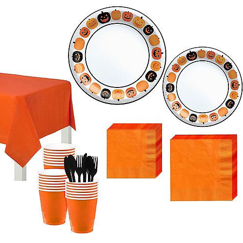 Pumpkin Fun Tableware Kit for 40 Guests Image #1