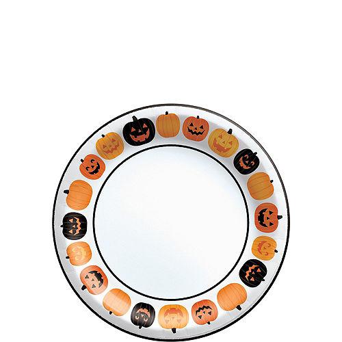 Pumpkin Fun Tableware Kit for 40 Guests Image #2