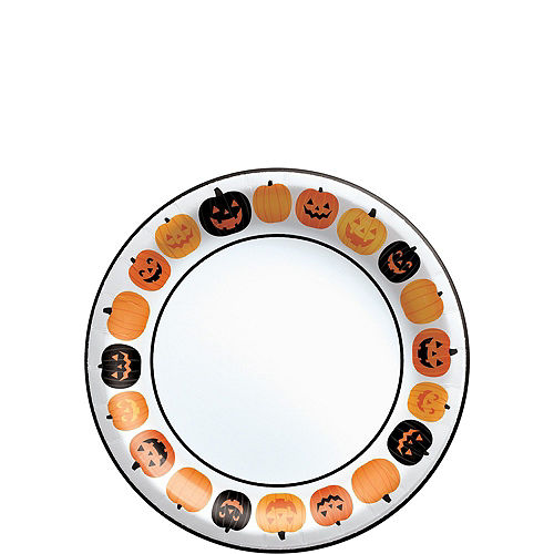 Pumpkin Fun Tableware Kit for 80 Guests Image #2