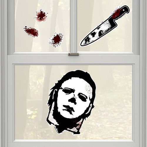 Michael Meyers Wall & Window Decorating Kit Image #2