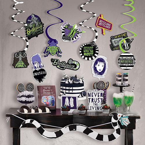 Beetlejuice Wall & Window Decorating Kit Image #2