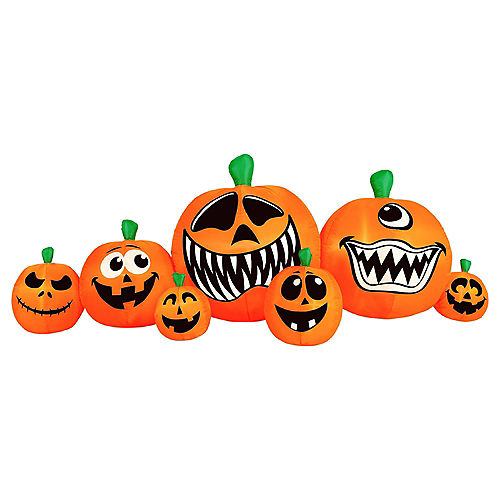 Halloween Pumpkin Patch Yard Decorating Kit Image #2
