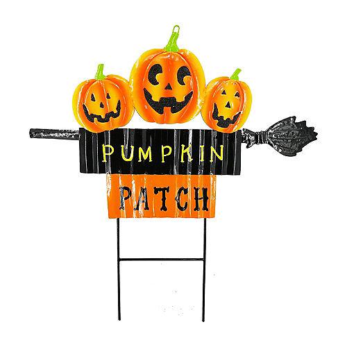 Halloween Pumpkin Patch Yard Decorating Kit Image #3