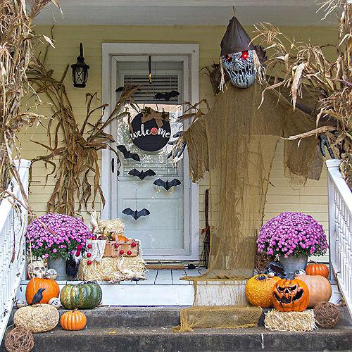 Rustic Pumpkin Patch Porch Decorating Kit Image #1