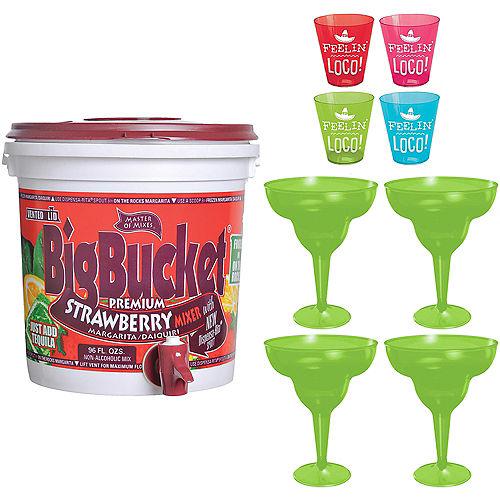 Feelin' Loco Strawberry Margarita Drink Kit Image #1