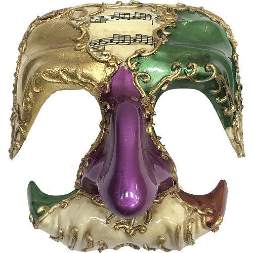 Mardi Gras Big Nose Mask Image #1