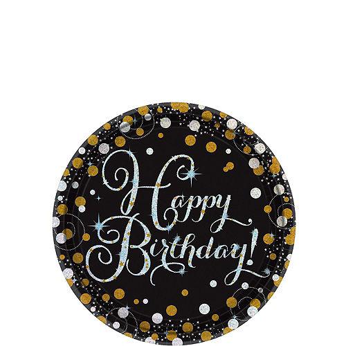 Sparkling Celebration Birthday Tableware Kit for 8 Guests Image #2