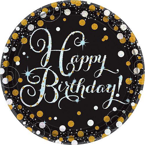 Sparkling Celebration Birthday Tableware Kit for 8 Guests Image #3