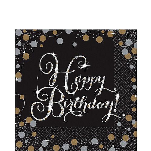 Sparkling Celebration Birthday Tableware Kit for 8 Guests Image #4