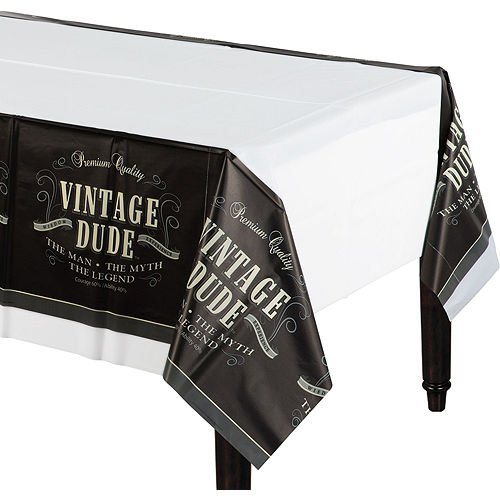 Vintage Dude 40th Birthday Tableware Kit for 8 Guests Image #7