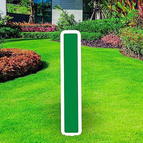 Giant Festive Green Corrugated Plastic Letter (I) Yard Sign, 30in Image #1