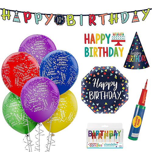 Rainbow Happy Birthday Kit Image #1