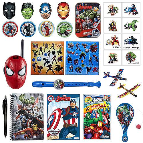 Avengers Favors & Toys Gift Basket Kit Image #1