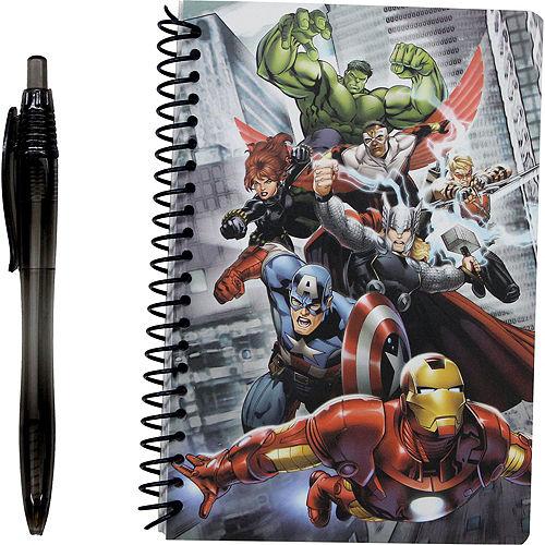 Avengers Favors & Toys Gift Basket Kit Image #10