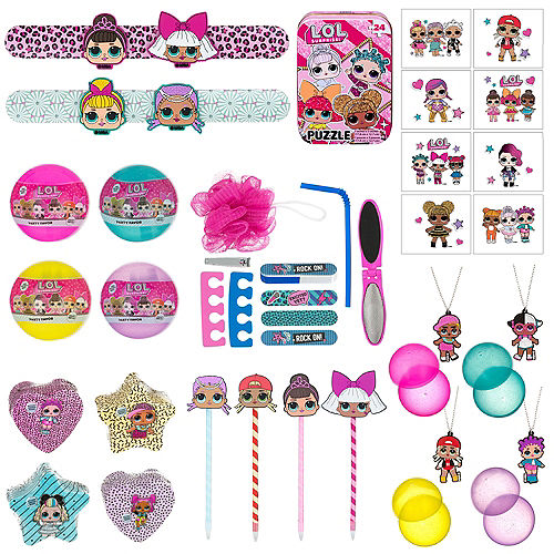 L.O.L. Surprise Favors & Toys Gift Basket Kit Image #1