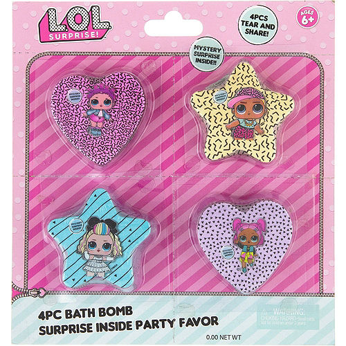 L.O.L. Surprise Favors & Toys Gift Basket Kit Image #8