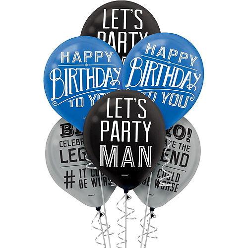 Vintage Happy Birthday Party Kit Image #2