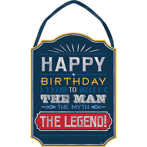 Vintage Happy Birthday Party Kit Image #5