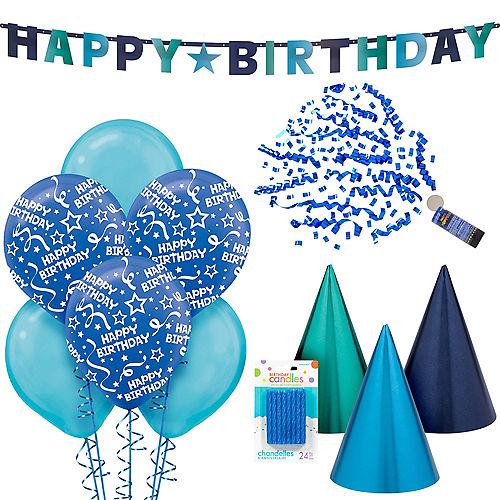 True Blue Birthday Party Kit Image #1