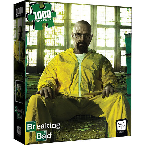 Walter White Puzzle, 1000pc - Breaking Bad Image #1