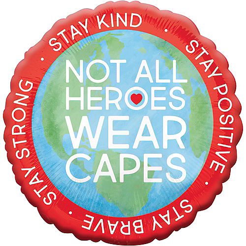 Everyday Heroes Love & Hope Balloon, 18in Image #1