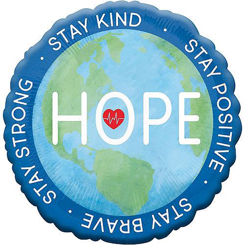 Everyday Heroes Love & Hope Balloon, 18in Image #2