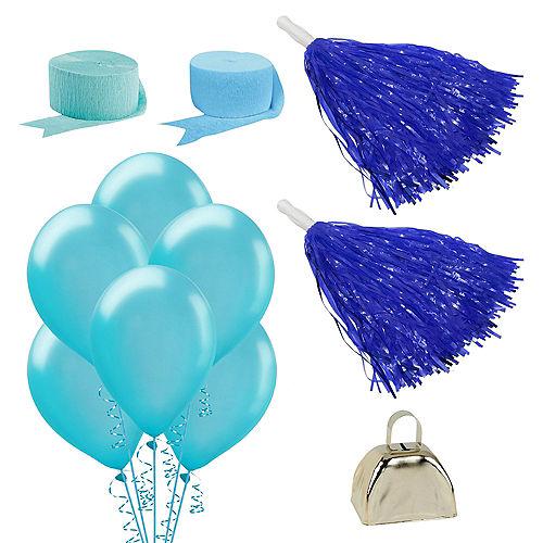 Shades of Blue Car Decorating Kit Image #1