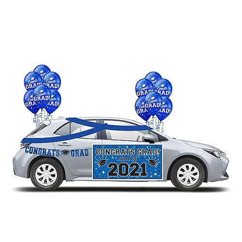 2021 Blue Drive-By Graduation in a Box Image #1