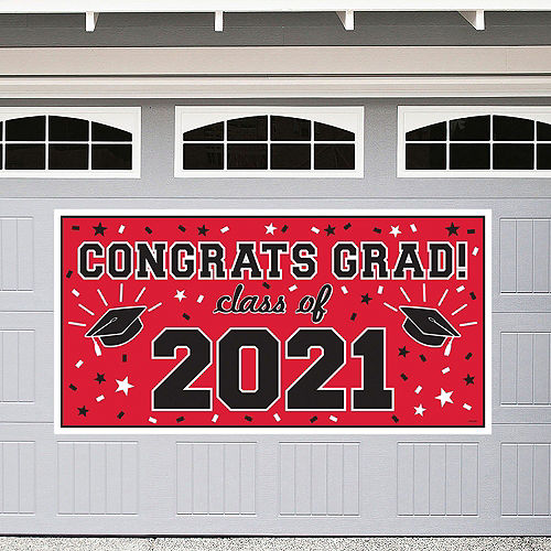 2021 Red Drive-By Graduation in a Box Image #2