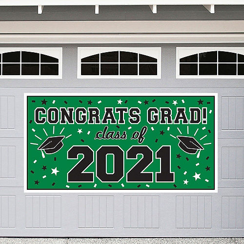 2021 Green Drive-By Graduation in a Box Image #2