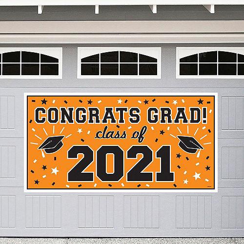 2021 Orange Drive-By Graduation in a Box Image #2