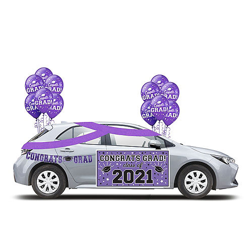 2021 Purple Drive-By Graduation in a Box Image #1