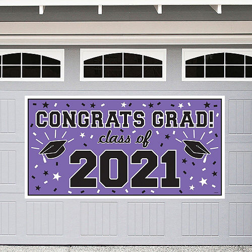 2021 Purple Drive-By Graduation in a Box Image #2