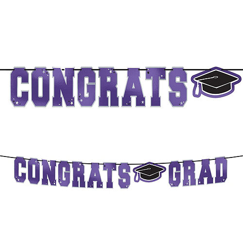 2021 Purple Drive-By Graduation in a Box Image #3