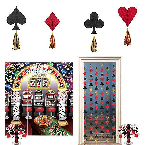 Jackpot Casino Night Decorating Kit Image #1