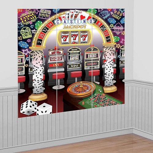 Jackpot Casino Night Decorating Kit Image #5